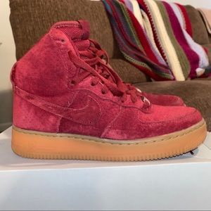 Women's Air Force 1 HI Suede